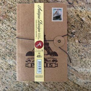 Other - Kraft Paper A6 Blank Notebook Journal Paris France